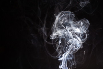 turbulences of a smoke or a birth of a phantom