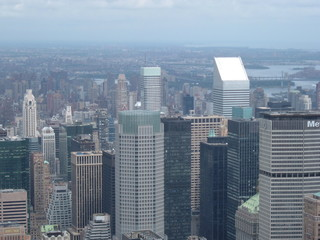 view from empire state buildig