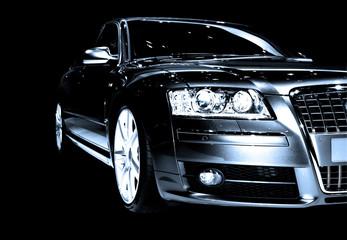Deurstickers Snelle auto s abstract car