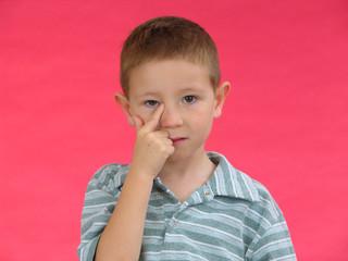 expressive kid b
