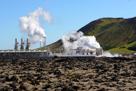 geothermal electricity generating in iceland