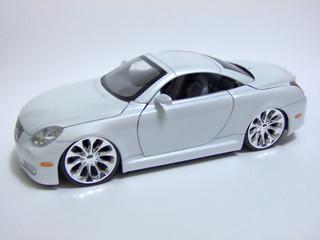 lexus 430 on white