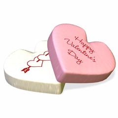 conversation heart - happy valentine's day