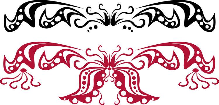 set of scroll patterns 1