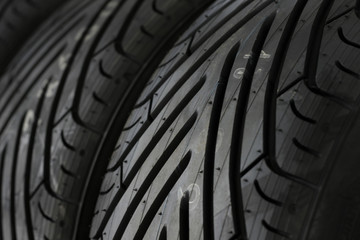 racing tires detail