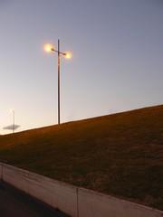 Foto auf Leinwand Golf lampadaire antigone