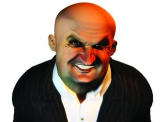"""bob"" caricature agressif"