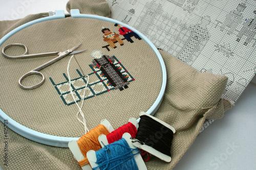 Что нужно для вышивки крестик