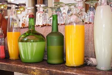 bebidas diferentes