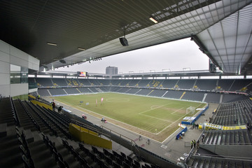 Fototapeta premium szwajcarski stadion