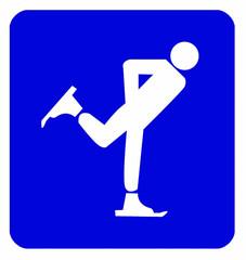 symbole patinage