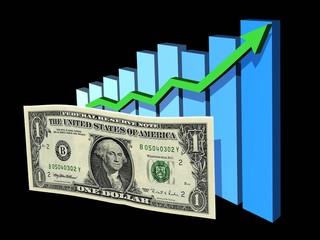 dollar en hausse