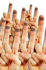 cloned fingers