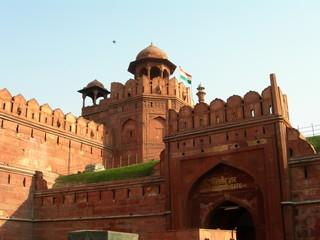 Printed roller blinds Delhi red fort