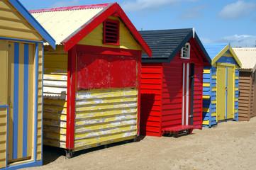 colorful beach house