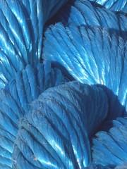 cordage bleu
