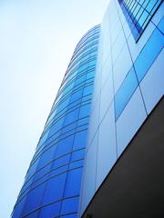 urban corporative business building