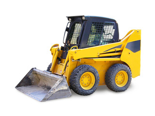 mini excavator - grab, construction