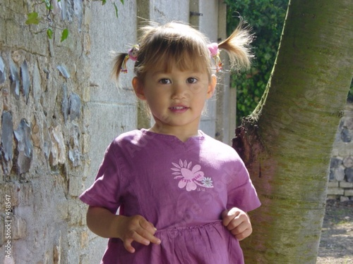 petite fille aux couettes photo libre de droits sur la banque d 39 images image 458547. Black Bedroom Furniture Sets. Home Design Ideas