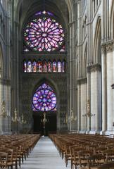 intérieur de la cathédrale de reims 2