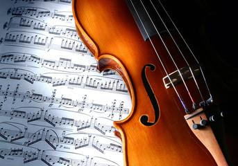 Obraz violin - fototapety do salonu