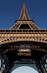 france, paris: eiffel tower