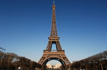 france, paris:  eiffel tower