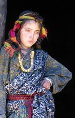 jeune femme berbère du haut atlas