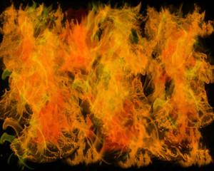 flame wall