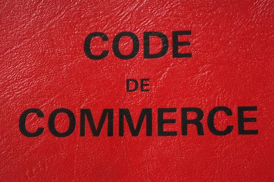 code du commerce