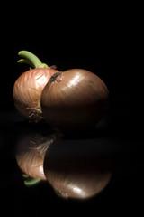 onions with reflex