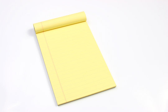 blank yellow pages horizontal