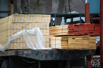 lumber ready for delivery