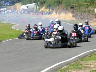 Door stickers Motor sports start of race
