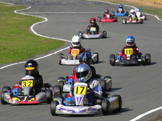 Wall Murals Motor sports go kart race