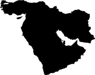Printed kitchen splashbacks Middle East middle east