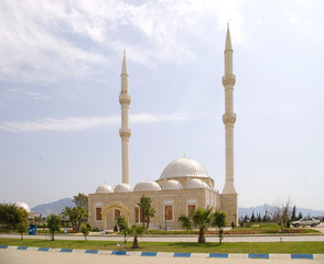 the local mosque