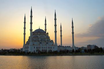 heaven behind mosque