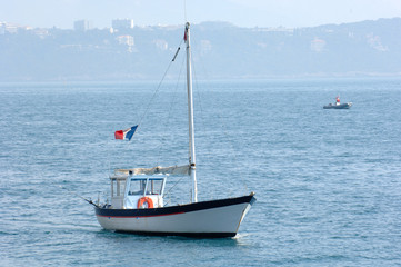 fishing boat off monaco