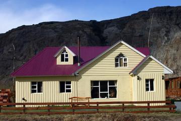 maison traditionelle en patagonie