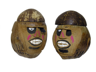coconut carvings