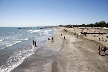 lido - strand von venedig - südseite