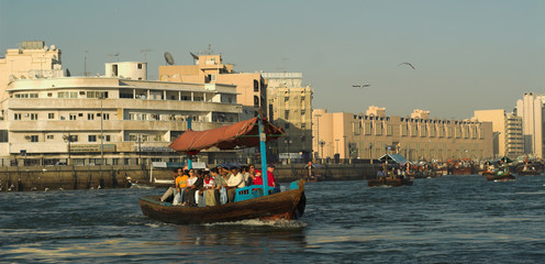 crossing the dubai creek