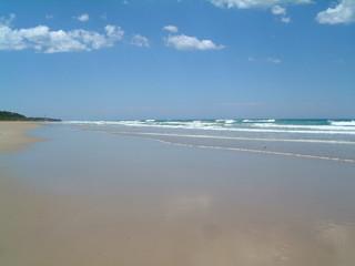 vast beach on the great ocean road