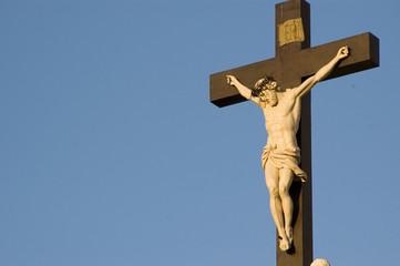 christ sur sa croix