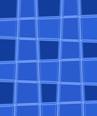blue  irregular square shapes used as background