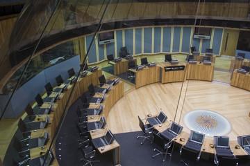 Fototapeta welsh assembly debating chamber obraz
