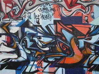 graffiti am mauerpark
