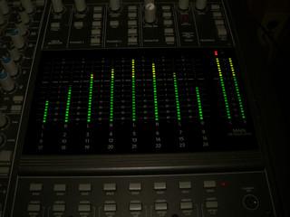 meter - mixing board