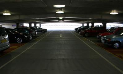 inside a car park